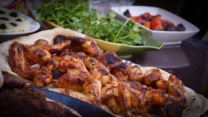 Paleo diet plan - grilled chicken wings