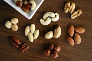 Keto diet food list - nuts and seeds
