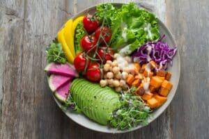 dash diet for beginners - veggies