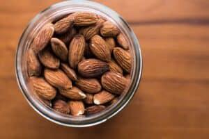 paleo diet food list - almonds