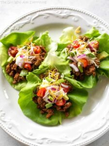 1200 Calorie High Protein Low Carb Diet - taco lettuce