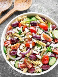 1200 Calorie Meal Prep - greek pasta