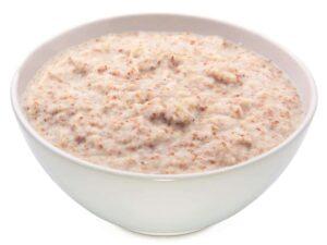 1200 Calorie Vegetarian Meal Plan - oatbran