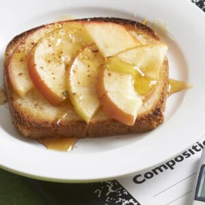 1200 calorie meal plan under a budget - apple toast