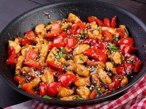 1200 calorie meal plan under a budget - oriental chicken stir-fry