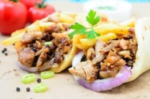 1300 calorie Paleo meal plan - chicken fajita