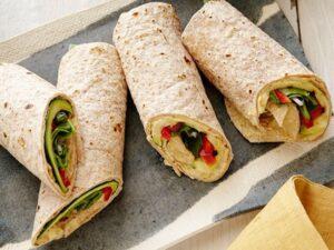 Vegan weight loss meal plan 1200 calories - hummus