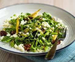 1800 calorie vegan meal plan - arugula salad