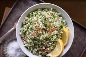 1800 calorie vegan meal plan - grain-free tabbouleh salad