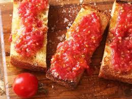 1800 calorie vegan meal plan - pan-con tomate