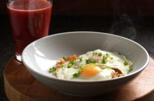 Dash diet recipes phase 1 - southwestern eggs