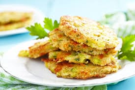 1000 calorie Paleo meal plan - zucchini hash browns