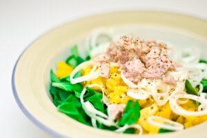 Keto diet for beginners - tuna salad