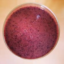 Dash diet smoothie - Walnut blueberry smoothie