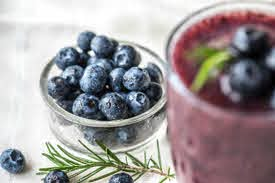 High calorie smoothies without protein powder - Blueberry smoothie