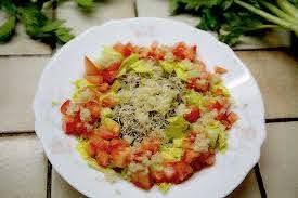 Vegan autoimmune diet - ginger melon salad