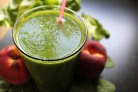 Vegan autoimmune diet - green avocado smoothie