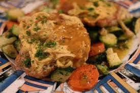 Zone diet for women - mustard steak