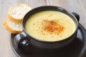 high blood pressure meal plan - creamy cheese soup