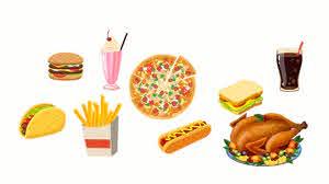 worst foods for skin - Junk food